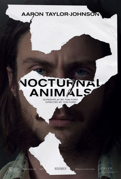 Nocturnal Animals Aaron Taylor Johnson Poster