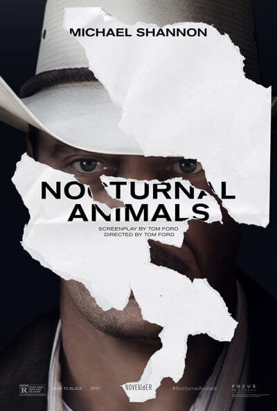 Nocturnal Animals Michael Shannon Poster