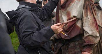 Outlander star Sam Heughan season 3
