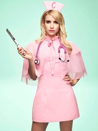 Scream Queens star Emma Roberts