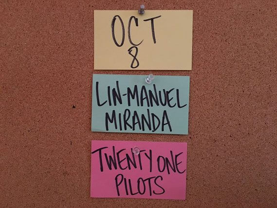 SNL Lin-Manuel Miranda and Twenty One Pilots