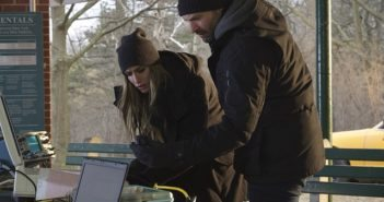 The Strain stars Ruta Gedmintas and Corey Stoll
