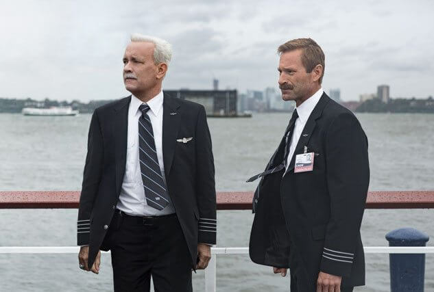 Sully stars Tom Hanks and Aaron Eckhart