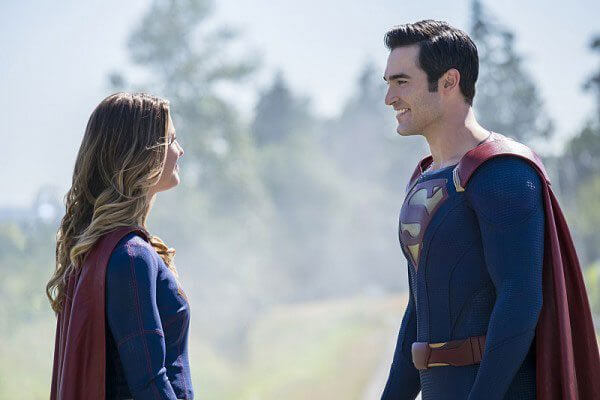 Supergirl star Melissa Benoist and Tyler Hoechlin