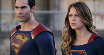 Supergirl stars Melissa Benoist and Tyler Hoechlin