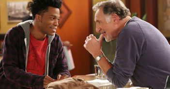 CBS Superior Donuts stars Jermaine Fowler and Judd Hirsch