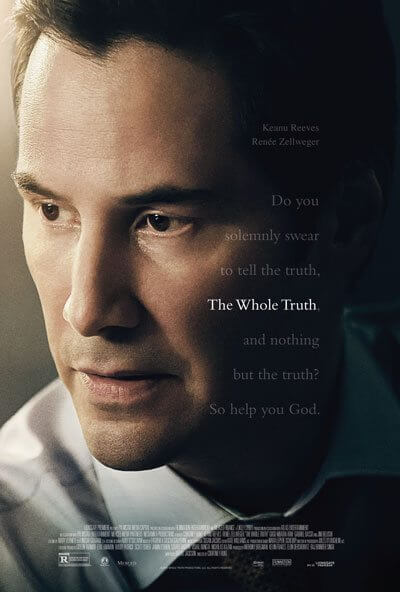The Whole Truth Poster with Keanu Reeves