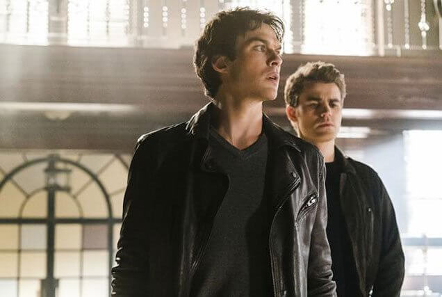 Vampire Diaries stars Ian Somerhalder and Paul Wesley