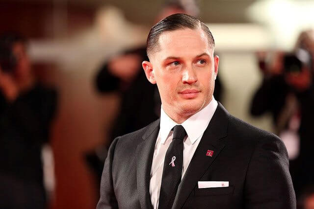 Tom Hardy plays Al Capone in Fonzo