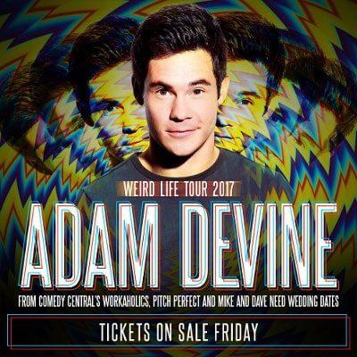Adam Devine Tour