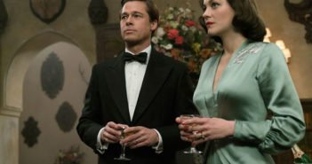 Allied stars Brad Pitt and Marion Cotillard