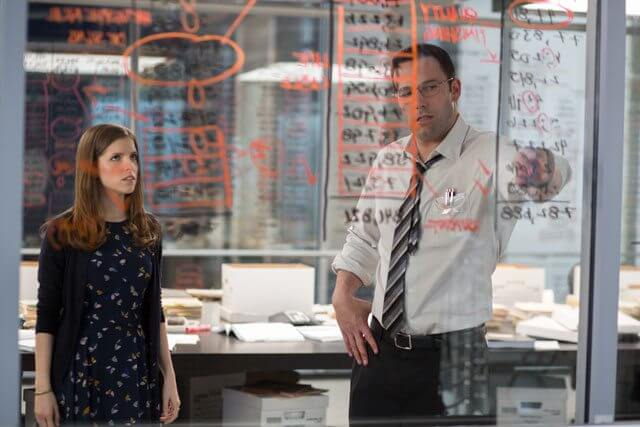 The Accountant stars Ben Affleck and Anna Kendrick