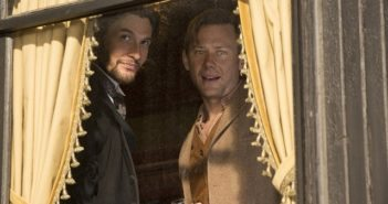 Westworld stars Ben Barnes and Jimmi Simpson episode 2