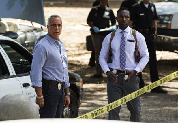 Bosch Titus Welliver and Jamie Hector