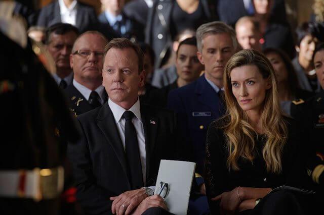 Designated Survivor Episode 3 stars Kiefer Sutherland and Natascha McElhone
