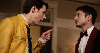 Dirk Gently stars Samuel Barnett and Elijah Wood
