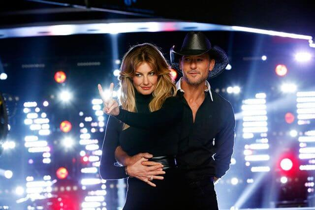 The Voice advisors Faith Hill and Tim McGraw