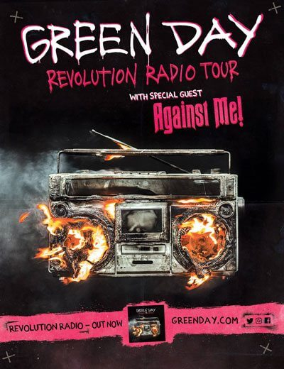 Green Day Tour 2017