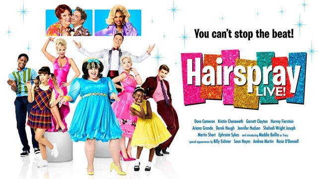 Hairspray Live colorful poster