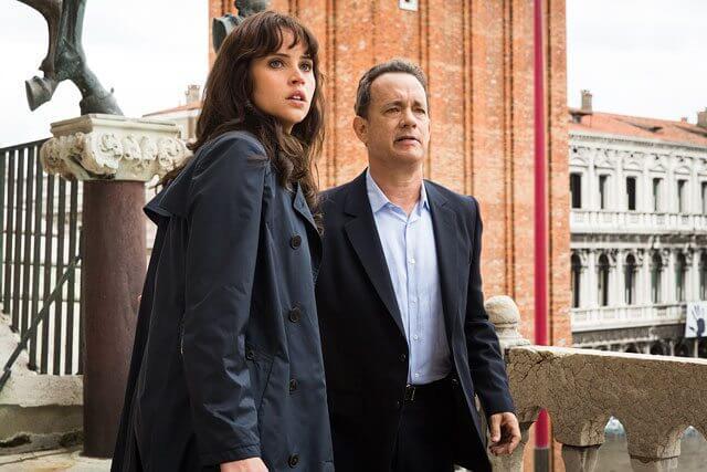 Inferno Felicity Jones and Tom Hanks