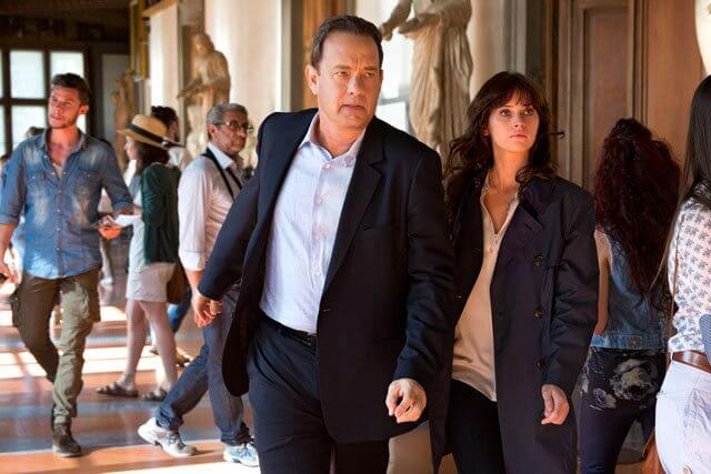 Inferno stars Tom Hanks and Felicity Jones