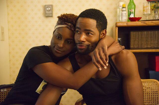 Insecure Issa Rae and Jay Ellis