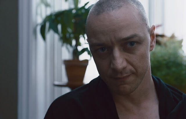 Split star James McAvoy