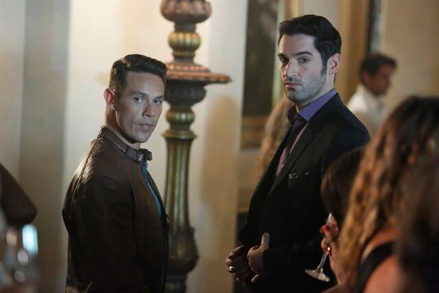 Lucifer season 2 episode 4 stars Tom Ellis and Kevin Alejandro