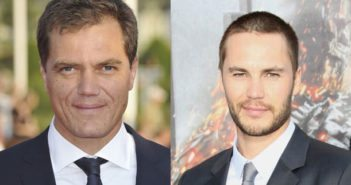 Michael Shannon and Taylor Kitsch