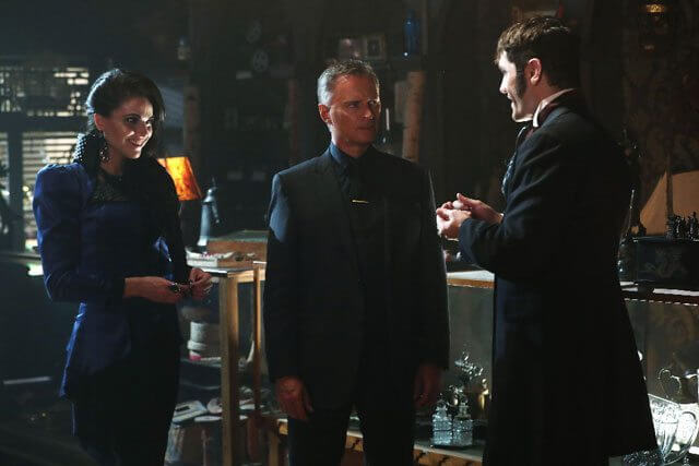 Once Upon a Time Season 6 Episode 4 Lana Parrilla, Robert Carlyle and Sam Witwer