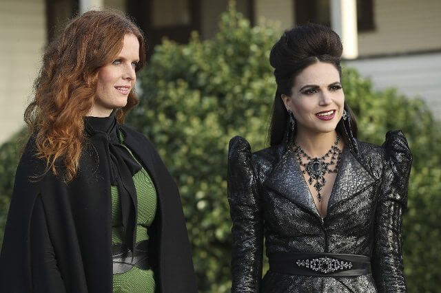 Once Upon a Time season 6 stars Lana Parrilla and Rebecca Mader