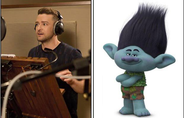 Trolls star Justin Timberlake