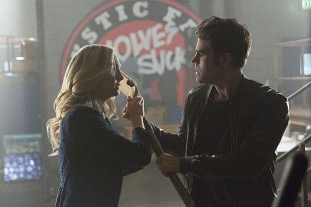 Vampire Diaries Season 8 episode 3 stars Candice King and Paul Wesley