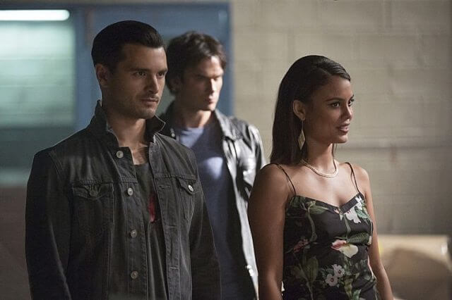 Vampire Diaries Season 8 episode 3 stars Ian Somerhalder and Michael Malarkey