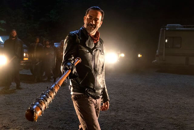 The Walking Dead season 7 Jeffrey Dean Morgan as Negan