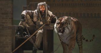 The Walking Dead King Ezekiel and Shiva
