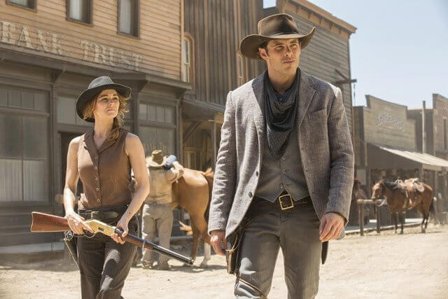 Westworld season 1 episode 3 James Marsden and Bojana Novakovic