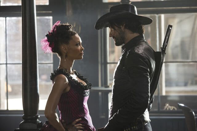 Westworld star Thandie Newton and Rodrigo Santoro