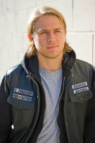 Charlie Hunnam stars in Sons of Anarchy