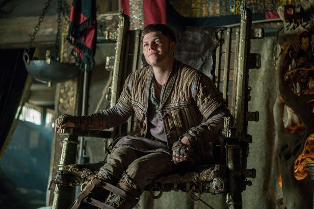 Vikings star Alex Hogh Andersen as Ivar the Boneless