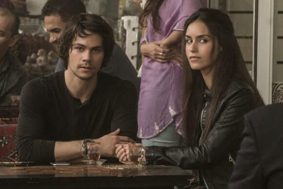 American Assassin Dylan O'Brien and Shiva Negar