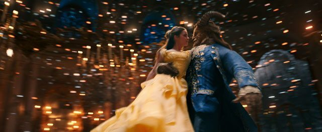 Beauty and the Beast Emma Watson and Dan Stevens Dancing