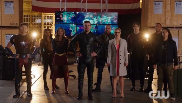 CW Superheroes Crossover