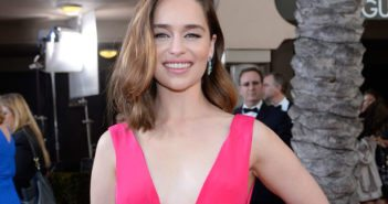 Emilia Clarke at the SAG Awards