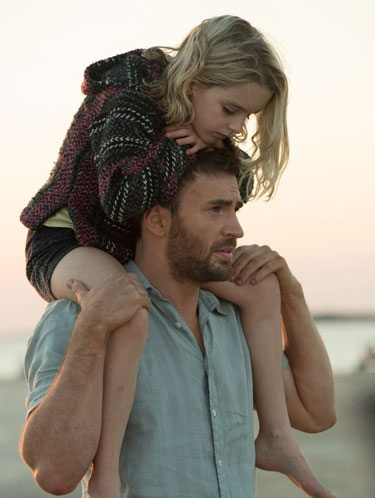 Giftedstars Chris Evans and Mckenna Grace