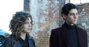 Gotham Season 3 Episode 10 Camren Bicondova and David Mazouz