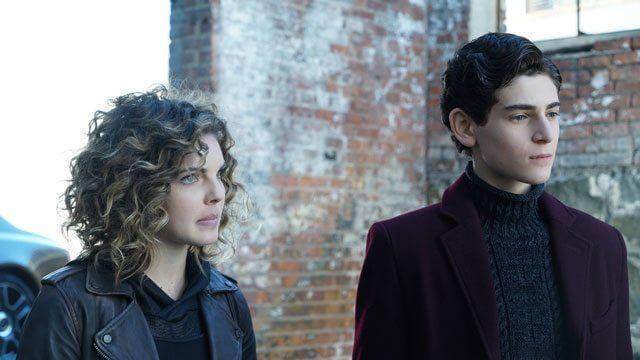 Gotham Season 3 Episode 10 Camren Bicondova and David Mazouz