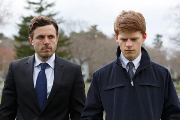 Manchester by the Sea stars Casey Affleck and Lucas Hedges