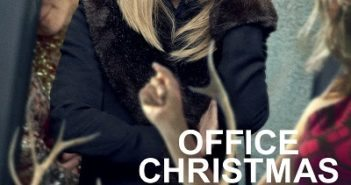 Office Christmas Party Poster with Jennifer Aniston