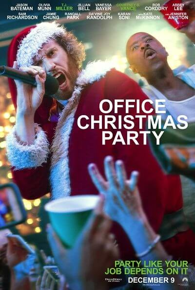 Office Christmas Party TJ Miller Poster